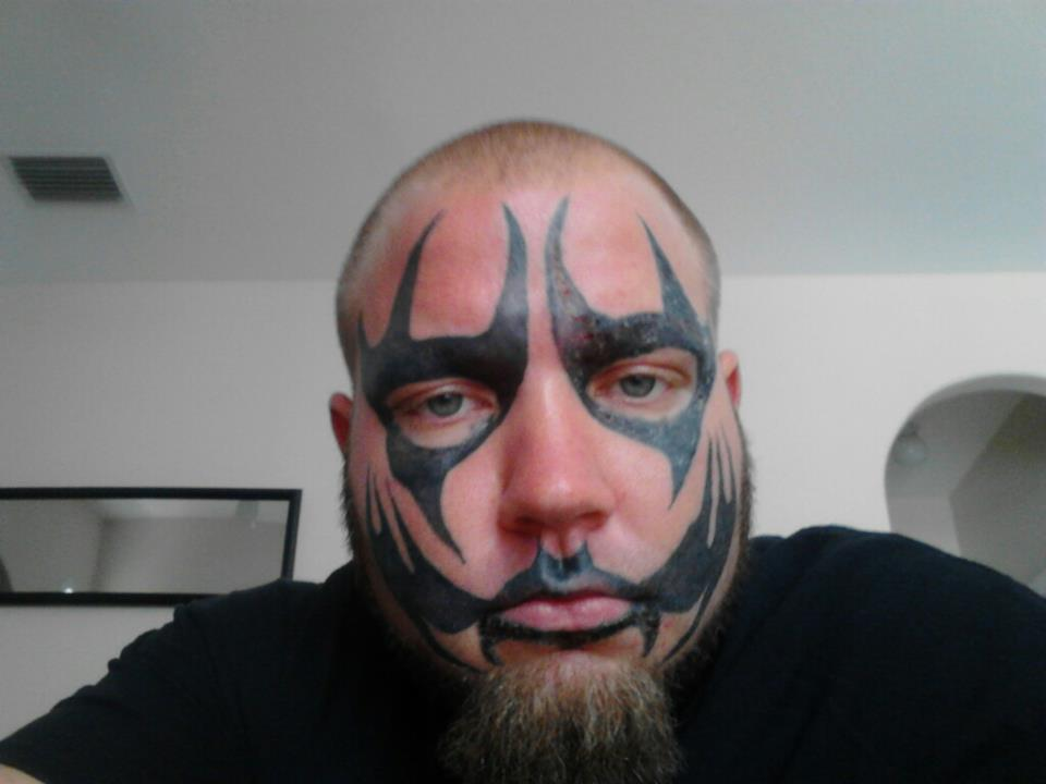 Boondox Face Paint Tattoo