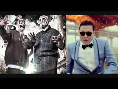 """ICP, Tech N9ne, Hopsin – """"SKREEEM!"""" [Gangnam Style Remix"""