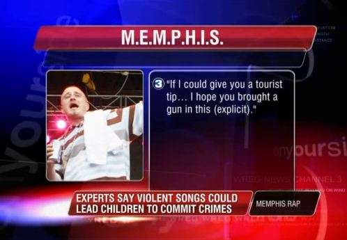 """Lil Wyte's """"M E M P H I S """" gets local news exposure for"""