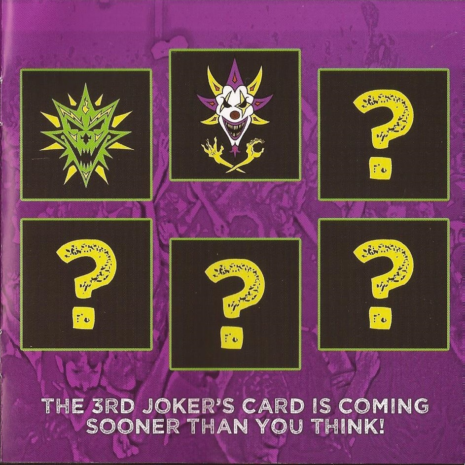 Icp Albums And Songs List Stunning the kreayshawn song and 3rd joker's card news from ff5 booklet