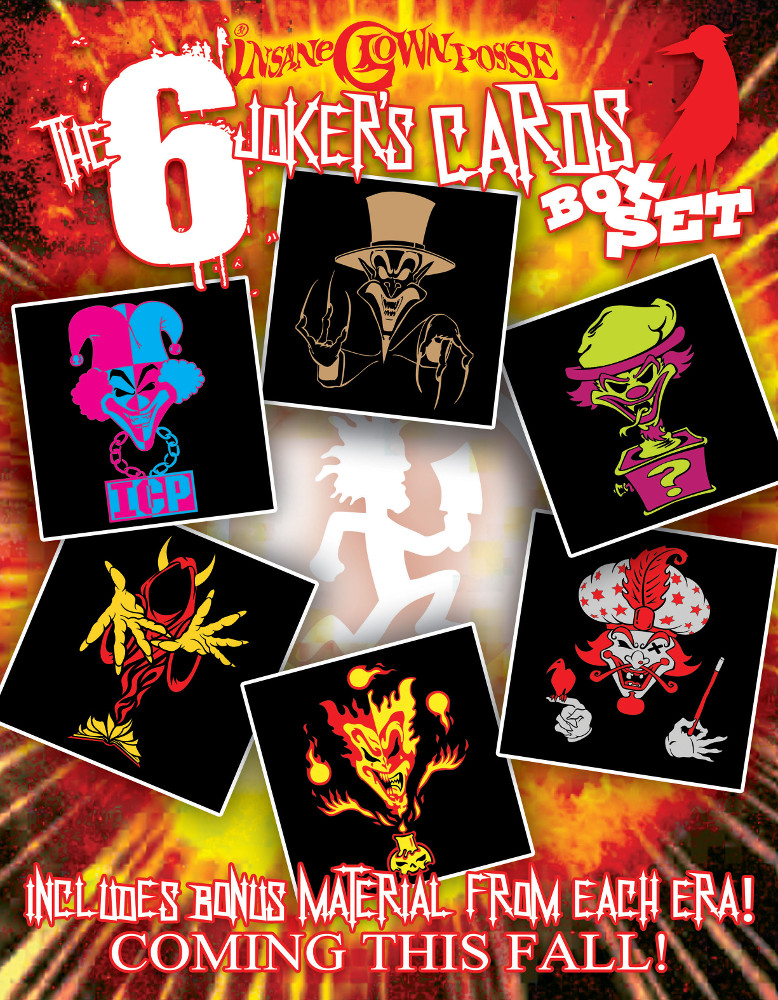 The First Six Joker S Cards Boxset Will Be On 8 Discs Faygoluvers