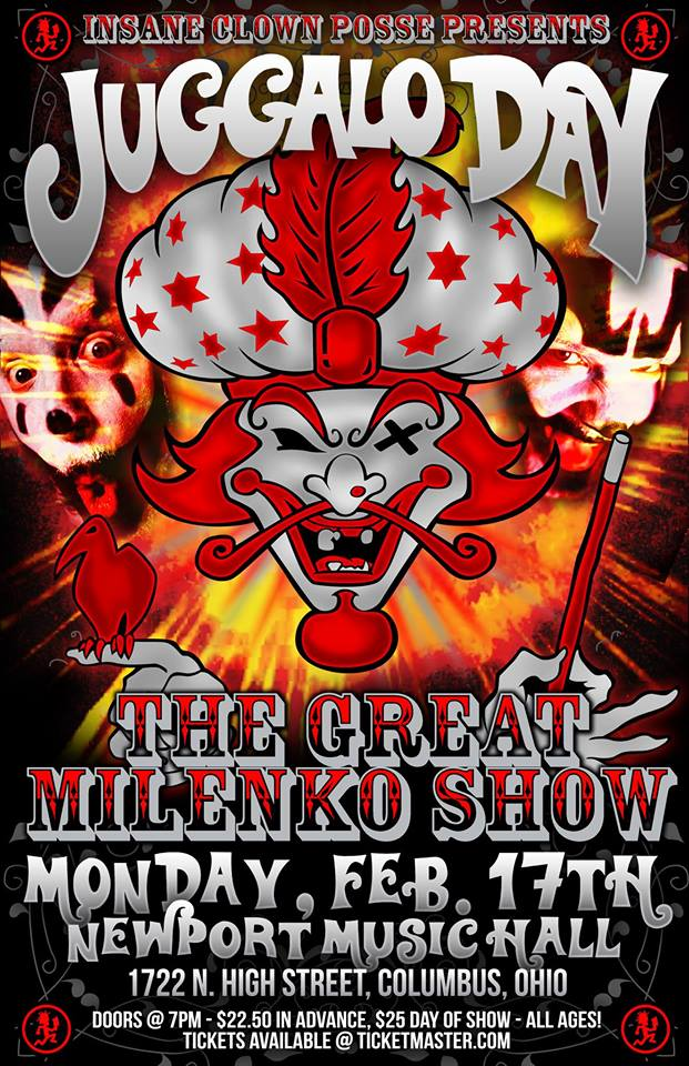 2nd Annual Juggalo Day (The Great Milenko Show) - Columbus, OH