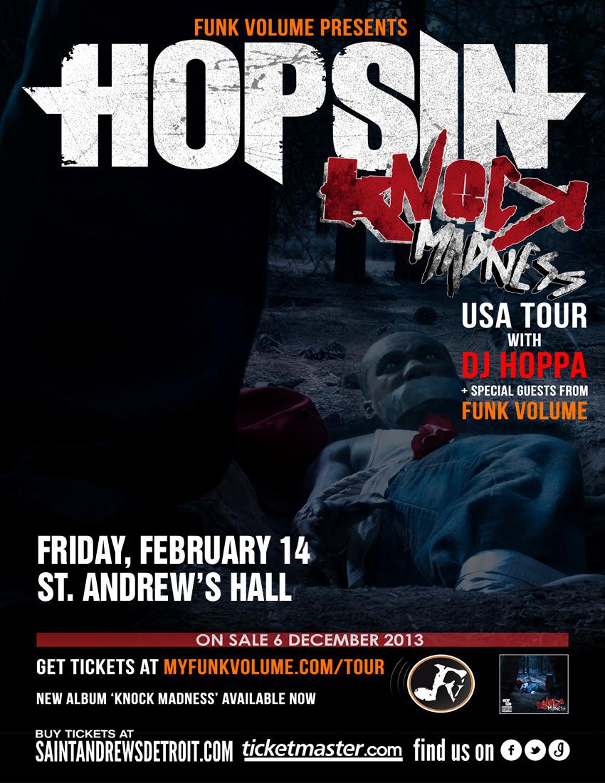 Hopsin Tour