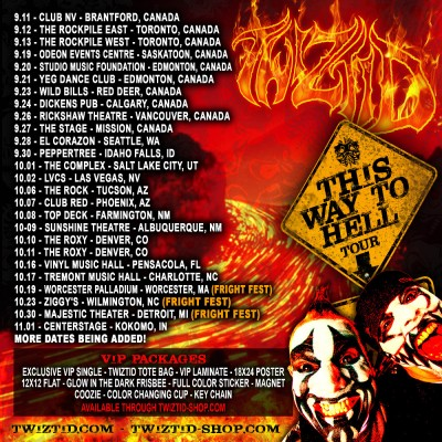 Twiztid tour dates in Sydney