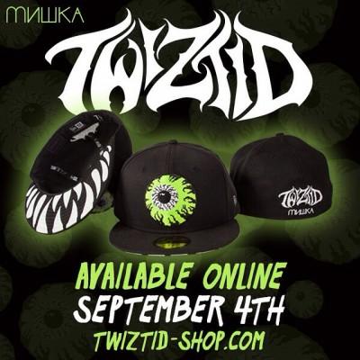A New Twiztid Mishka New Era Hat is Now Available on Twiztid-Shop ... 253d3f9d5b1