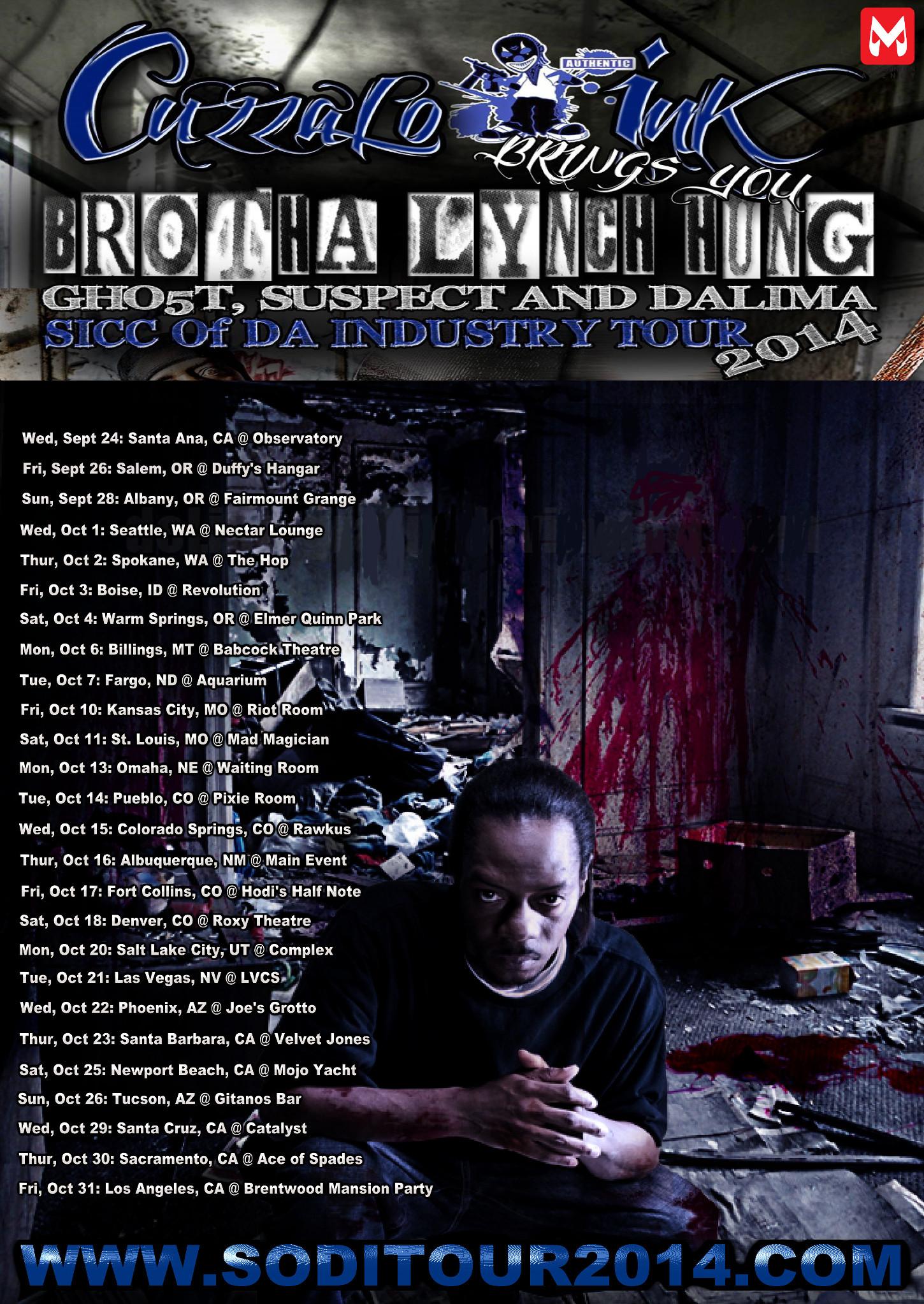 "Brotha Lynch Hung's ""Sick Of Da Industry"" Tour – Boise, ID"