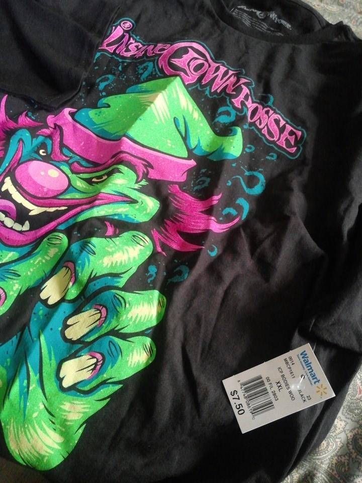 ICP shirts now at Walmart? | Faygoluvers
