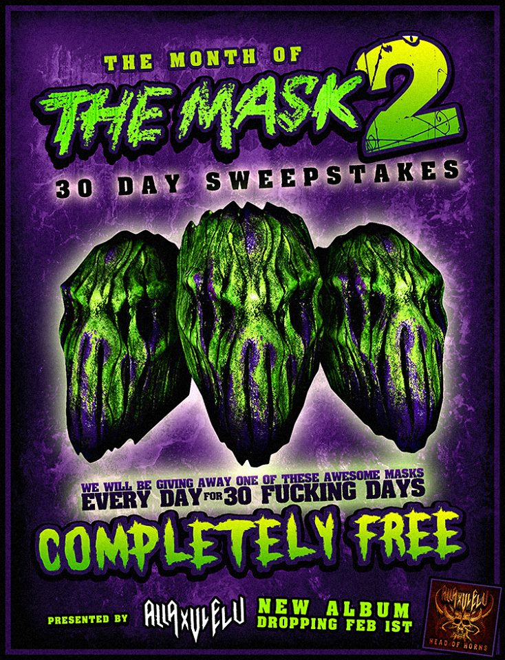 Masks sweepstakes
