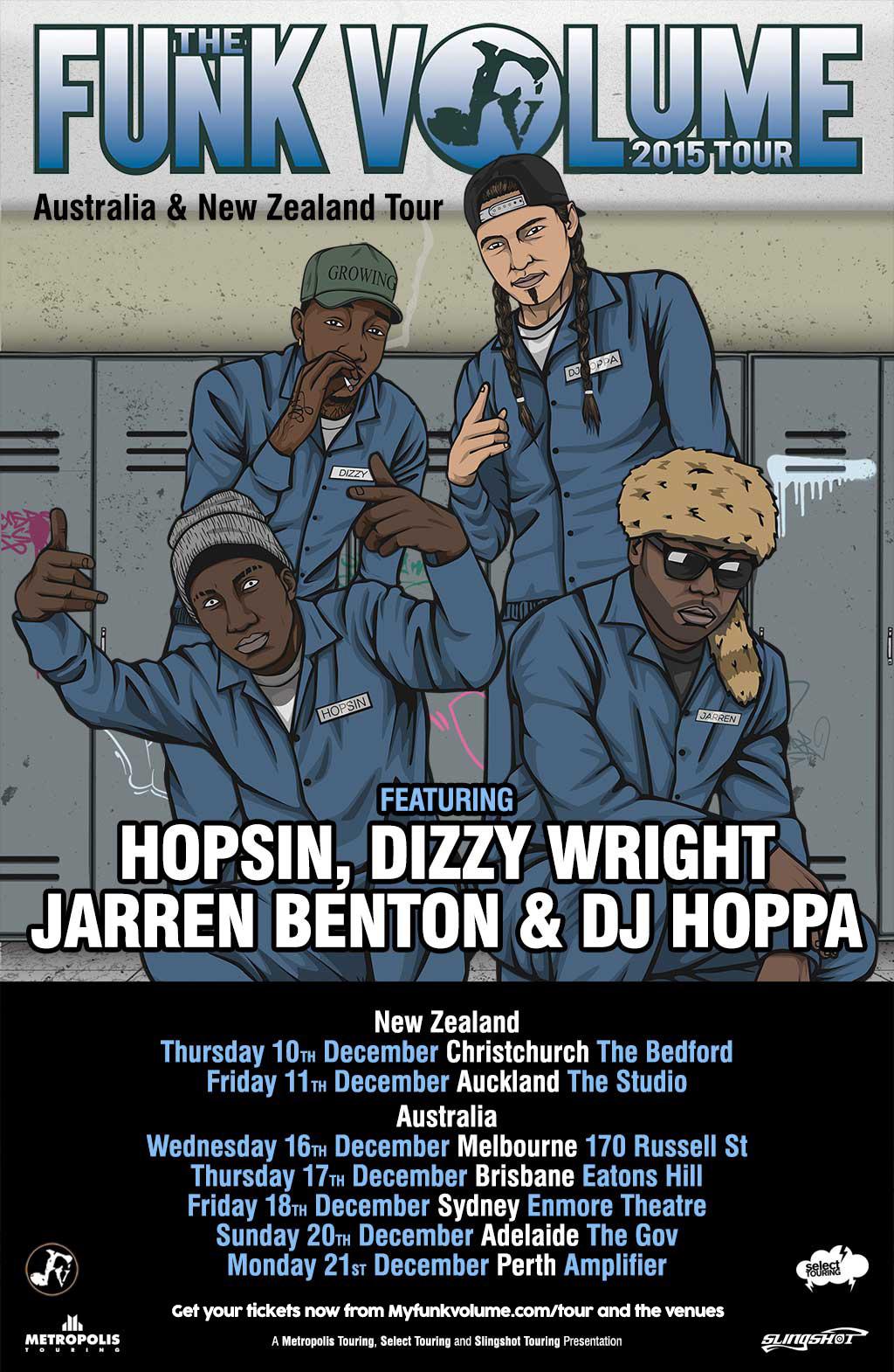 Meet Hopsin Dizzy Wright Jarren Benton Dj Hoppa In Australia And