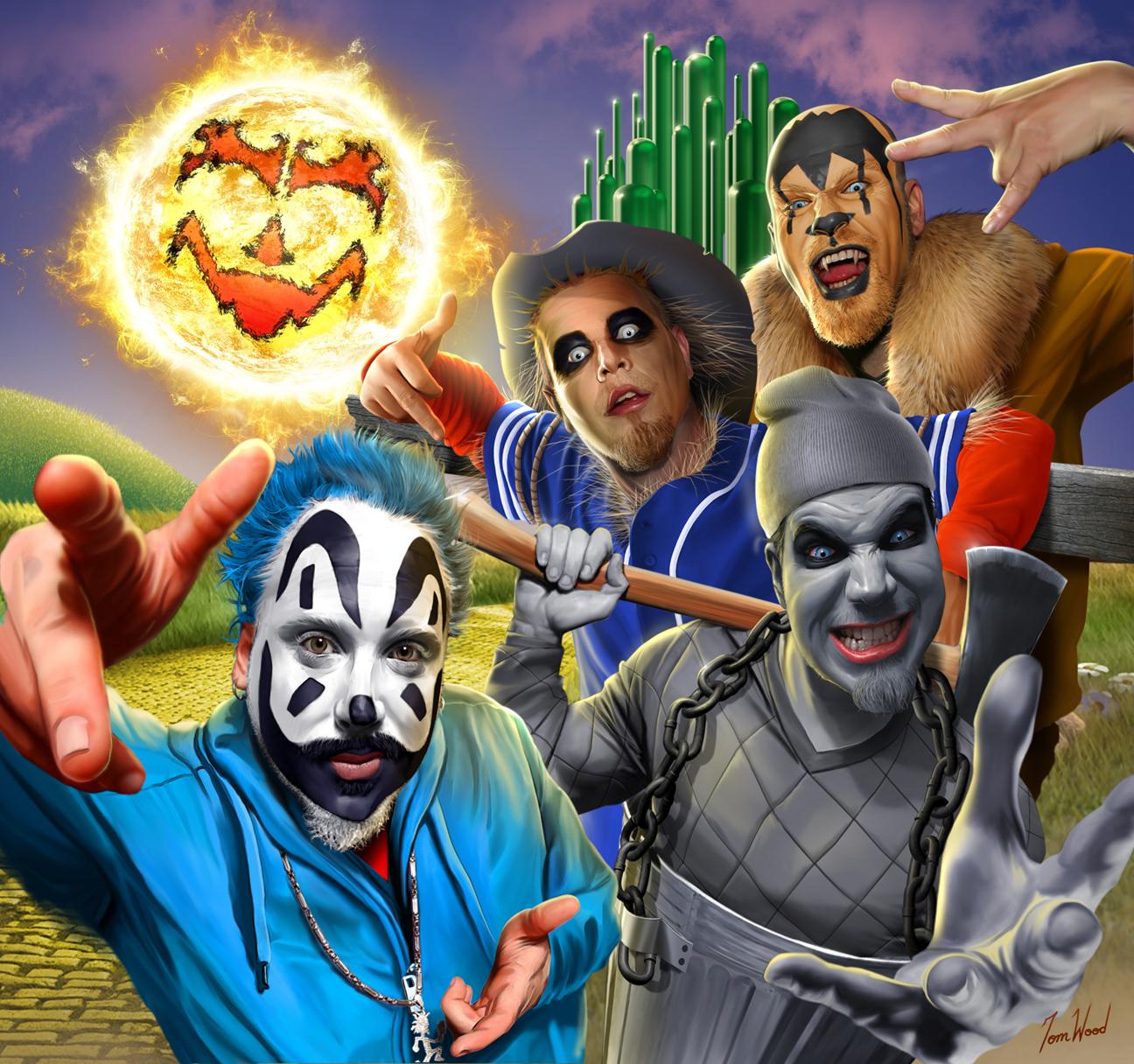 Rock Pop Insane Clown Posse Icp Violent J Wizard Of The Hood Cd