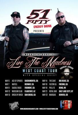 Moonshine Bandits Tour