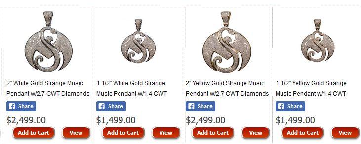 Real strange music pendants now available faygoluvers real strange music pendants now available aloadofball Gallery