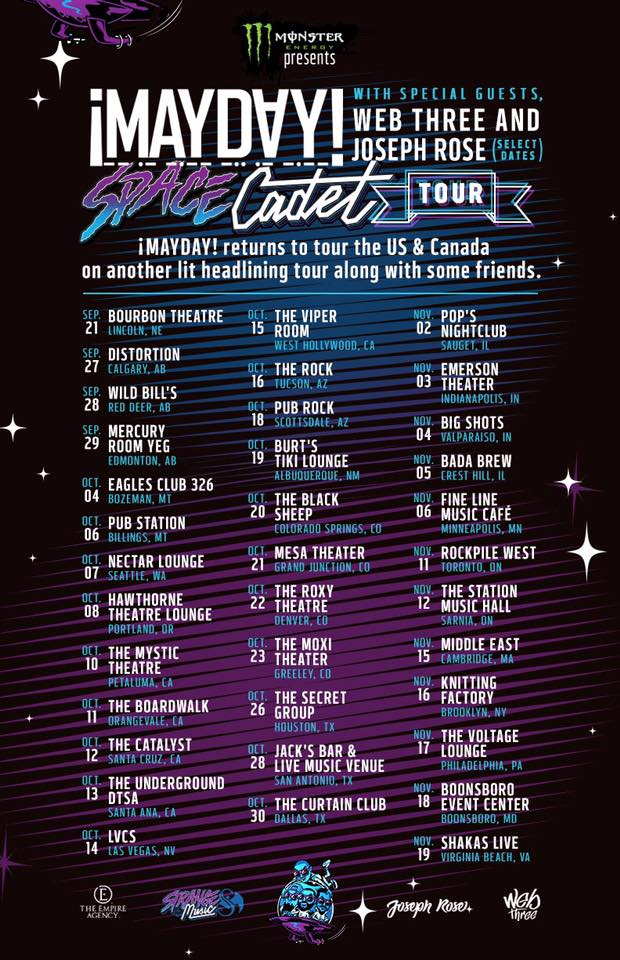 Mayday Tour Dates