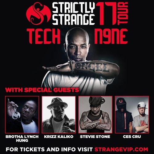 "Tech N9ne's ""Strictly Strange"" Tour - Omaha, NE"
