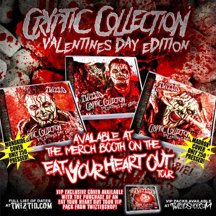 twiztid releasing 4 versions of cryptic collection