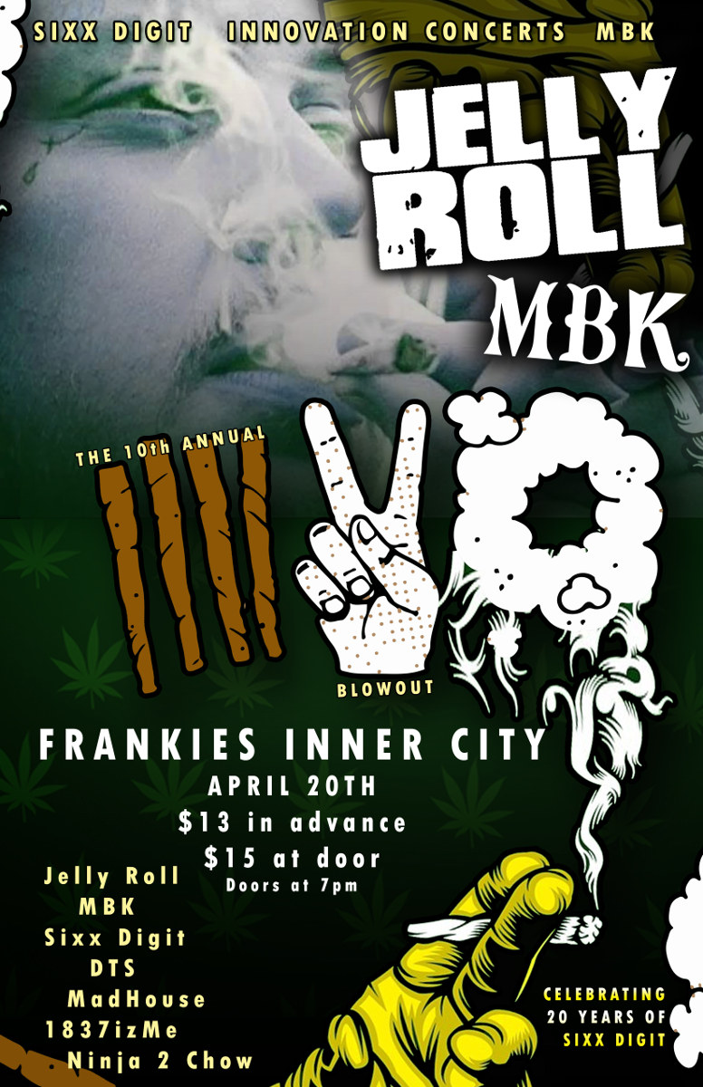 Jelly Roll & MBK's 10th Annual 420 Blowout - Toledo, OH