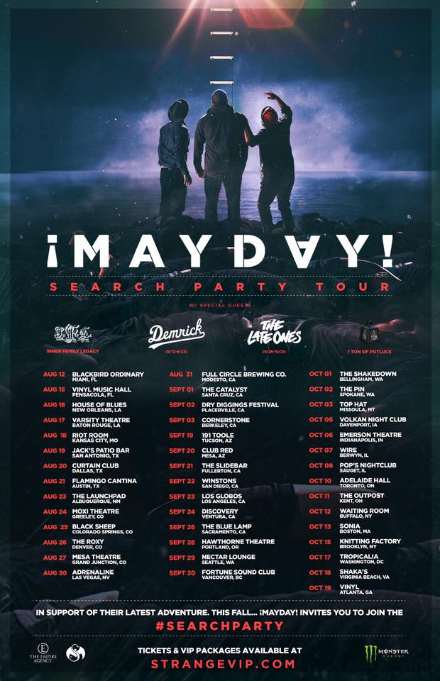 """Mayday! Announces dates for """"Search Party"""" Tour"""