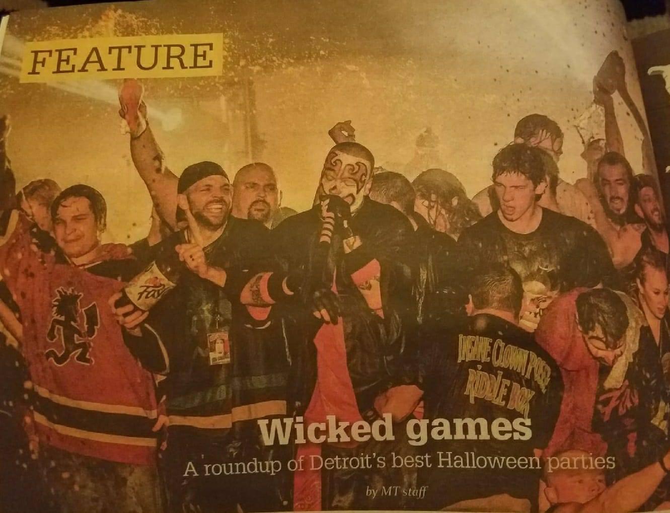 detroit's metro times covers detroit's best halloween parties