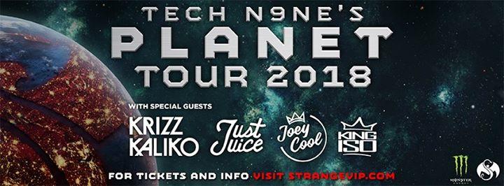 Wichita, KS - Tech N9ne's Planet Tour 2018