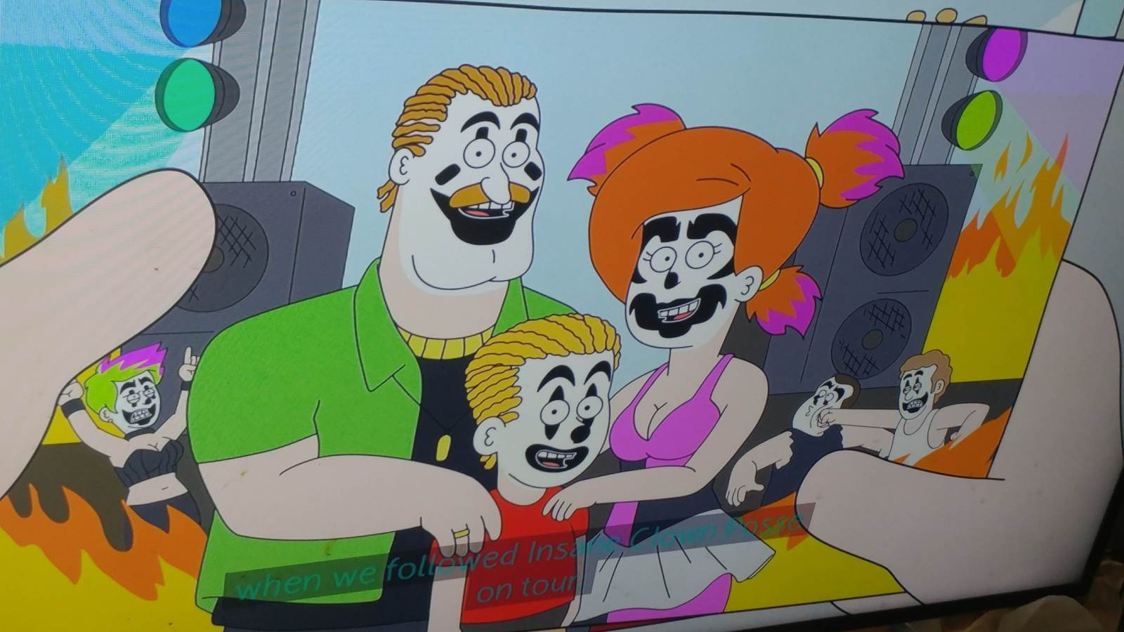 Insane Clown Posse And Juggalo References On New Netflix Show