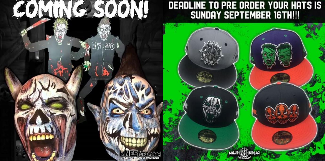 Twiztid Premium Halloween Masks Coming Soon  MNE Hat Pre-order ... 4044886c0f2