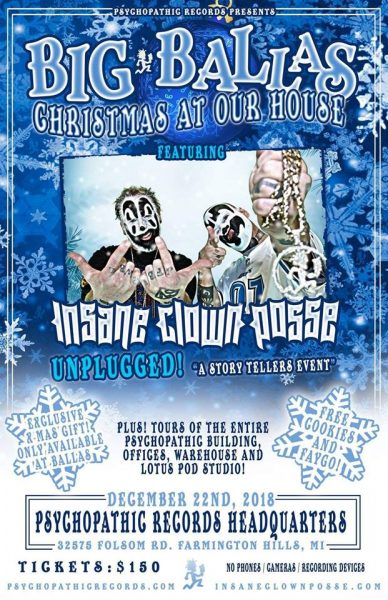 a17ce1991d3 Xmas at Our House (featuring an ICP Acoustic Set) – Farmington