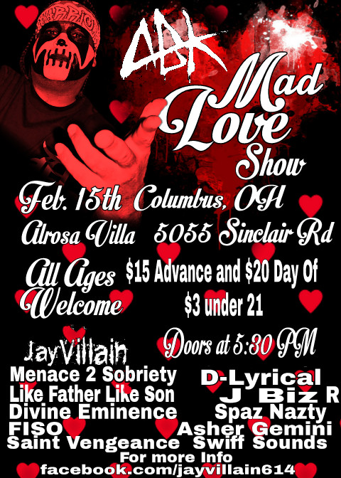 "ABK's ""Mad Love"" Show - Columbus, OH"