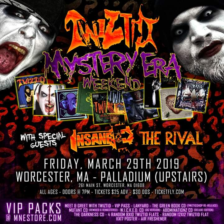 Twiztid's Mystery Era Weekend - Worcester, MA