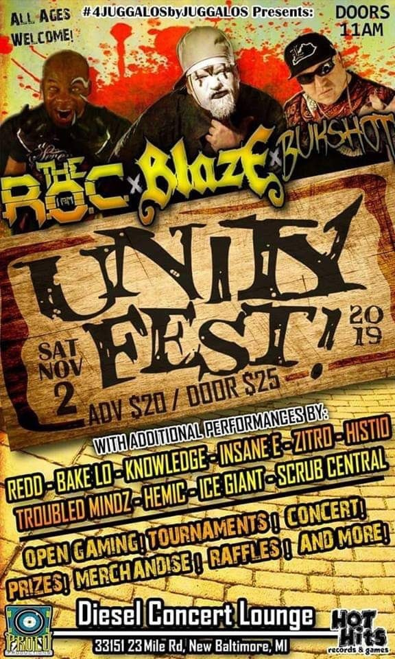 Unity Fest 2019 (ft. The ROC, Blaze, Bukshot) - New Baltimore, MD