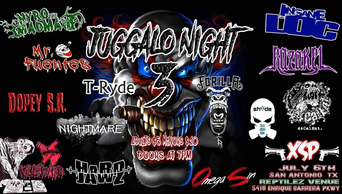 Juggalo Night 3 - San Antonio, TX