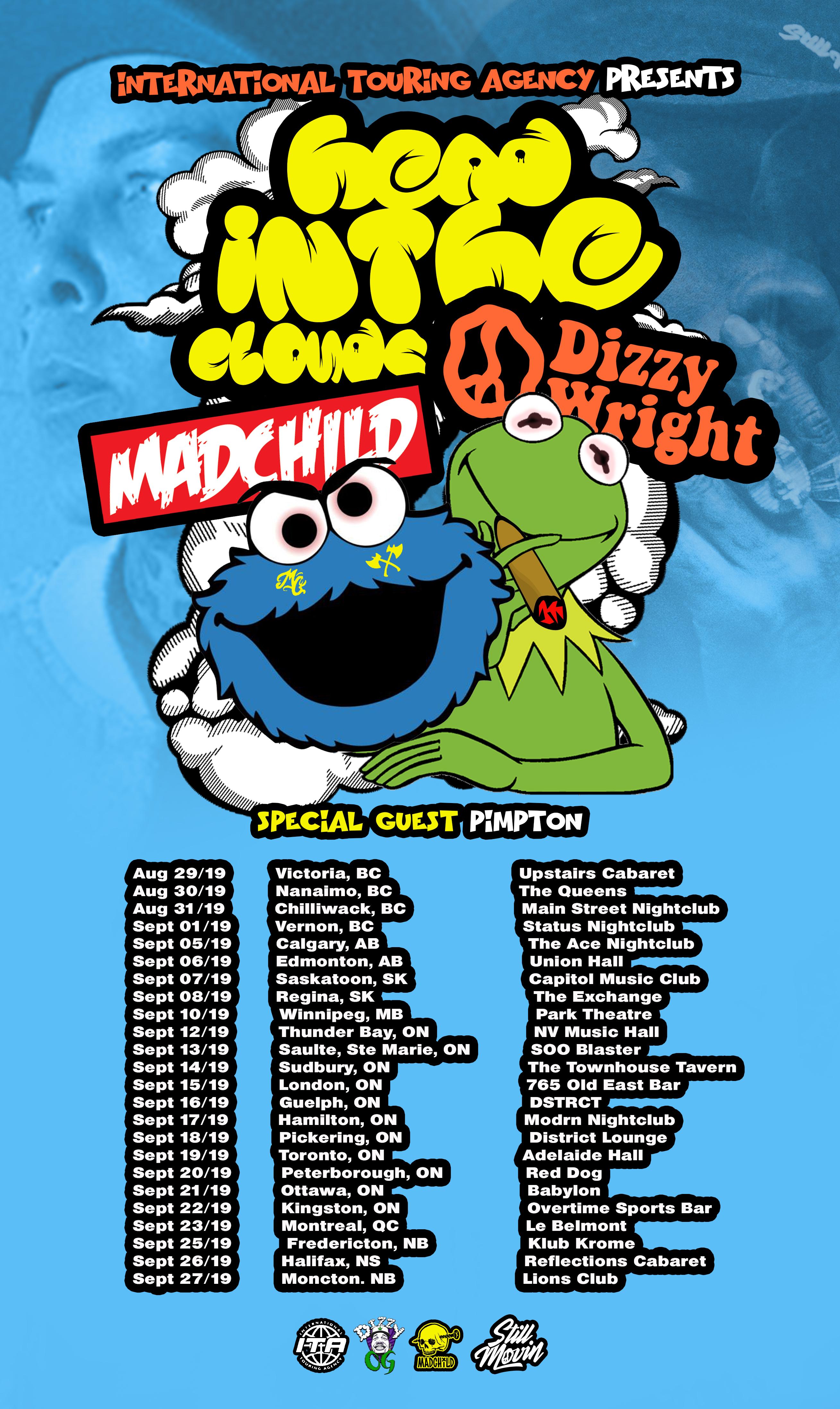 Dizzy Wright & Madchild Announce Co-Headlining Canadian Tour