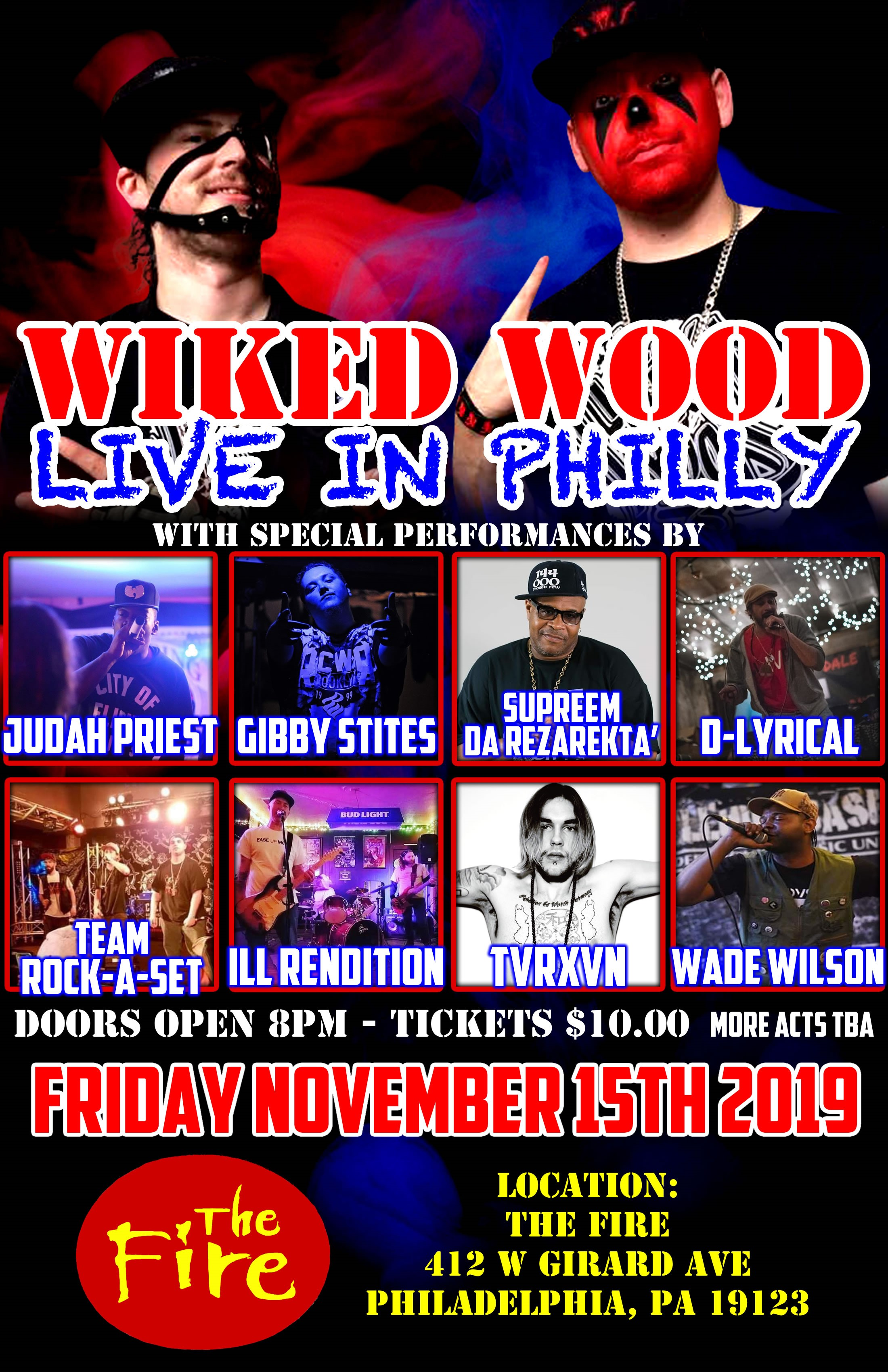 Wiked Wood LIVE - Philadelphia, PA